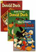Golden Age (1938-1955):Cartoon Character, Donald Duck Group (Dell, 1952) Condition: Average GD+.... (Total:19 Comic Books)
