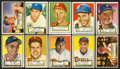 Baseball Cards:Lots, 1952 Topps Baseball Collection (147) With One High Number. ...