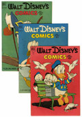 Golden Age (1938-1955):Cartoon Character, Walt Disney's Comics and Stories Group (Dell, 1952-60) Condition:Average FN-.... (Total: 9 Comic Books)