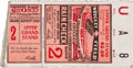 Baseball Collectibles:Tickets, 1929 World Series Game 2 Ticket Stub....