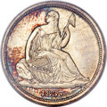 1837 10C No Stars, Small Date MS66+ PCGS Secure. CAC....(PCGS# 4562)
