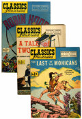 Golden Age (1938-1955):Classics Illustrated, Classics Illustrated Group (Gilberton, 1946-47) Condition: AverageVG.... (Total: 10 Comic Books)