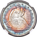 1838 10C Small Stars MS68 ★ NGC. Fortin-101a....(PCGS# 4569)