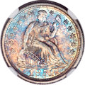 Seated Dimes, 1851-O 10C MS64 NGC....