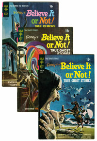 Ripley's Believe It Or Not File Copy Group (Gold Key, 1971-80) Condition: Average VF+.... (Total: 63 Comic Books)