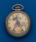 Timepieces:Pocket (post 1900), Ingersoll Mickey Mouse Pocket Watch. ...