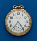 Timepieces:Pocket (post 1900), Hamilton, 21 Jewel, 992B. ...