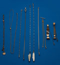 Timepieces:Watch Chains & Fobs, Ten Gold Filled Watch Chains. ... (Total: 10 Items)
