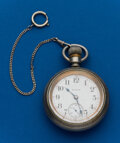 Timepieces:Pocket (post 1900), Elgin 15 Jewel, 18 Size. ...