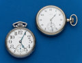 Timepieces:Pocket (pre 1900) , Two Elgin 16 Size. ... (Total: 2 Items)