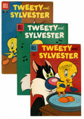 Silver Age (1956-1969):Cartoon Character, Tweety and Sylvester File Copies Group (Dell/Gold Key/Whitman, 1956-82) Condition: Average FN.... (Total: 82 Comic Books)