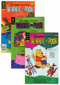 Bronze Age (1970-1979):Cartoon Character, Winnie the Pooh File Copies Group (Gold Key/Whitman, 1977-84)Condition: Average FN+.... (Total: 30 Comic Books)