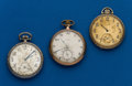Timepieces:Pocket (post 1900), Three Elgin 12 Size Pocket Watches. ... (Total: 3 Items)