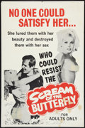 """Movie Posters:Sexploitation, Scream of the Butterfly Lot (Emerson Film Enterprises, 1965). OneSheets (2) (27"""" X 41""""). Sexploitation.. ... (Total: 2 Items)"""