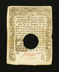 Colonial Notes:Connecticut, Connecticut July 1, 1780 20s Extremely Fine.. ...