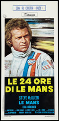 """Movie Posters:Sports, Le Mans (National General, 1971). Italian Locandina (13"""" X 27""""). Sports.. ..."""