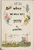Books:Signed Editions, A. A. Milne. When We Were Very Young. [New York]: E. P.Dutton & Co., [1924]. . First American edition limited...