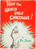 Books:First Editions, Dr. Seuss. How the Grinch Stole Christmas. New York: RandomHouse, [1957].. First edition, first printing. Qua...