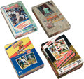 Baseball Cards:Other, 1992 Through 1994 Bowman Baseball Unopened Box Group of (4). ...