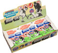 Baseball Cards:Other, 1968 Fleer Baseball Team Iron-Ons Display Box. ...