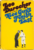 """Baseball Collectibles:Publications, Leo Durocher Signed """"Nice Guys Finish Last"""" Hardcover Book...."""