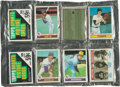 Baseball Cards:Other, 1979 Topps Baseball Rack Pack Pair (2) With Smith RC and RyanShowing!...