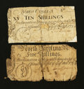 Colonial Notes:North Carolina, Two North Carolina March 9, 1754 About Good.. ... (Total: 2 notes)