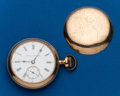 Timepieces:Pocket (post 1900), Hampden 18 Size Gold Filled. ...