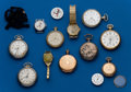 Timepieces:Other , Twelve Piece Grab Bag Lot. ... (Total: 12 Items)