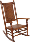 Political:Presidential Relics, John F. Kennedy: Perhaps the Only Existing Kennedy Rocking Chair with Ironclad Authentication from the Kennedy Family!... (Total: 4 Items)