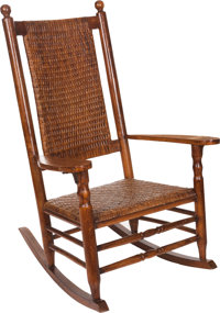 John F. Kennedy: Perhaps the Only Existing Kennedy Rocking Chair with Ironclad Authentication from the Kennedy Family!