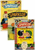 Golden Age (1938-1955):Miscellaneous, Sparkler Comics Group (United Features Syndicate, 1945-49).... (Total: 5 )