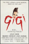 "Movie Posters:Musical, Gigi (MGM, 1958). One Sheet (27"" X 41""). Musical.. ..."