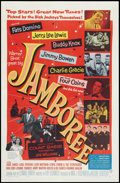 """Movie Posters:Rock and Roll, Jamboree (Warner Brothers, 1957). One Sheet (27"""" X 41""""). Rock andRoll.. ..."""