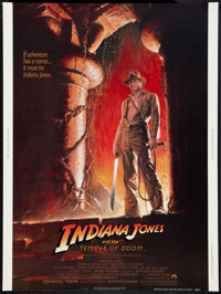 """Indiana Jones and the Temple of Doom (Paramount, 1984). Poster (30"""" X 40""""). Adventure"""
