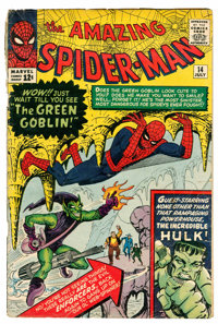 The Amazing Spider-Man #14 (Marvel, 1964) Condition: GD