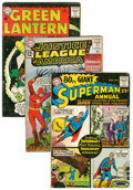 Silver Age (1956-1969):Miscellaneous, DC Silver Age Group (DC, 1960s).... (Total: 3 Comic Books)
