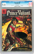 Silver Age (1956-1969):Adventure, Four Color #699 Prince Valiant - Circle 8 pedigree (Dell, 1956) CGC NM 9.4 Off-white pages....