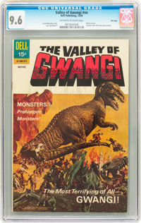 Movie Classics: Valley of Gwangi #nn File Copy (Dell, 1969) CGC NM+ 9.6 Off-white to white pages