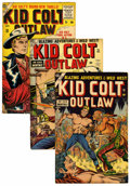 Silver Age (1956-1969):Western, Kid Colt Outlaw Group (Atlas/Marvel, 1954-56) Condition: AverageFN.... (Total: 6 Comic Books)