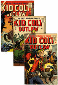 Silver Age (1956-1969):Western, Kid Colt Outlaw Group (Atlas/Marvel, 1956-63) Condition: AverageVF-.... (Total: 11 Comic Books)