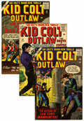 Silver Age (1956-1969):Western, Kid Colt Outlaw Group (Atlas/Marvel, 1958-65) Condition: AverageVF+.... (Total: 8 Comic Books)