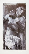Boxing Collectibles:Autographs, Oscar De La Hoya Signed Lithograph....