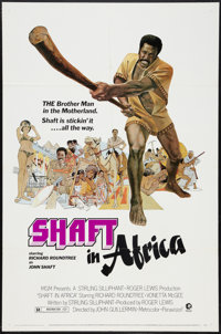 """Shaft in Africa Lot (MGM, 1973). One Sheets (5) (27"""" X 41""""). Blaxploitation. ... (Total: 5 Items)"""