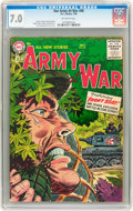 Golden Age (1938-1955):War, Our Army at War #48 (DC, 1956) CGC FN/VF 7.0 Off-white pages....