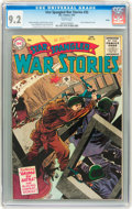 Golden Age (1938-1955):Science Fiction, Star Spangled War Stories #32 Salida pedigree (DC, 1955) CGC NM-9.2 White pages....