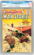 Golden Age (1938-1955):War, Star Spangled War Stories #36 (DC, 1955) CGC VF 8.0 Off-white towhite pages....