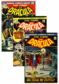 Bronze Age (1970-1979):Horror, Tomb of Dracula Group (Marvel, 1972-79) Condition: Average NM-....(Total: 22 Comic Books)