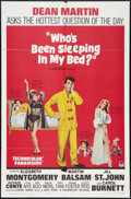 """Movie Posters:Comedy, Who's Been Sleeping in My Bed? Lot (Paramount, 1963). One Sheets (2) (27"""" X 41""""). Comedy.. ... (Total: 2 Items)"""