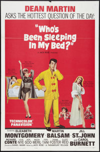 """Who's Been Sleeping in My Bed? Lot (Paramount, 1963). One Sheets (2) (27"""" X 41""""). Comedy. ... (Total: 2 Items)"""